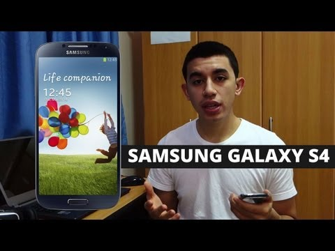 Samsung Galaxy S4 Wrap Up & First Impressions - Exynos 5 Octa-Core (8 Cores), 2GB RAM, 5 Inch AMOLED