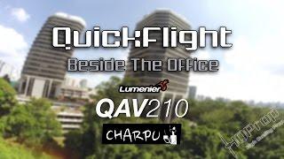 getlinkyoutube.com-QAV210 • Quick Flight Beside The Office [HD]