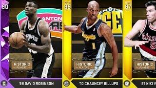 NBA 2K16 PS4 My Team - Birthday Luck? David Robinson!