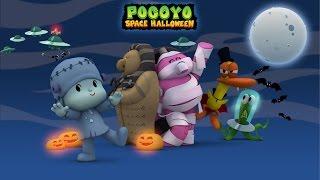 getlinkyoutube.com-Pocoyo Space Halloween 2015 - 40 minutes of spooky adventures for kids!