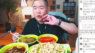 getlinkyoutube.com-푸우의 중국집 먹방 (짬뽕+짜짱면+탕수육) 맛있는집 편