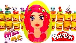 getlinkyoutube.com-Mia ve Ben Mia Sürpriz Yumurta Oyun Hamuru - Mia ve Ben LPS MLP Hello Kitty Oyuncakları