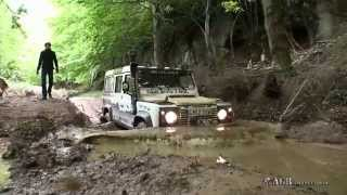 getlinkyoutube.com-LAND ROVERS  IN  EXTREME MUD TRACKS