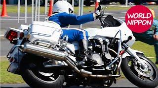 getlinkyoutube.com-激走CB1300Pファイナル!@第44回全国白バイ安全運転競技大会2013ハイライト POLICE MOTORCYCLE OF JAPAN