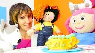 getlinkyoutube.com-Игры для девочек 🍰 торт для #куклы Маши и Смарты. Маша #КапукиКануки и передача Супер План Серия1