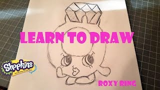 getlinkyoutube.com-Learn to Draw Shopkins Roxy Ring