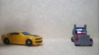 getlinkyoutube.com-Transformers bad day ROTF Stop Motion