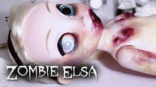 getlinkyoutube.com-Zombie Elsa Toy Collab (Teaser, Extended)