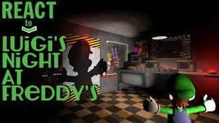 getlinkyoutube.com-LUIGIKID REACTS TO: LUIGI'S NIGHT AT FREDDY'S