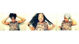 getlinkyoutube.com-How To: Night Routine for Crochet Braids