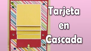 getlinkyoutube.com-Tutorial Tarjeta en Cascada | Luisa PaperCrafts
