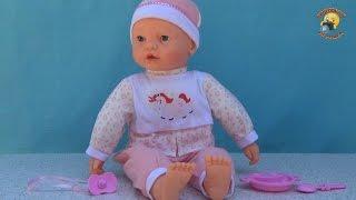 getlinkyoutube.com-Большая кукла пупс с мимикой 58 см – обзор игрушки / doll PUPS