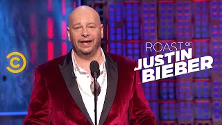 getlinkyoutube.com-Roast of Justin Bieber - Jeff Ross - Justin's Dating History - Uncensored