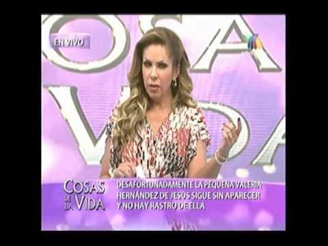 Rocio Sanchez Azuara PIDE UN DISCULPA SOBRE EL CASO DE VALERIA