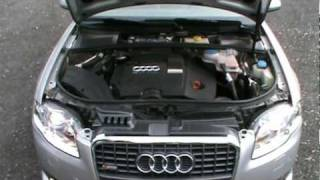 getlinkyoutube.com-2007  Audi A4 2.0 TDI DPF S-LINE Review,Start Up, Engine, and In Depth Tour