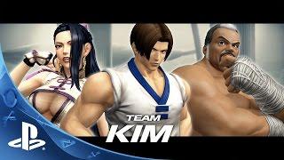 getlinkyoutube.com-THE KING OF FIGHTERS XIV -  Team Kim Trailer | PS4