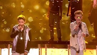 getlinkyoutube.com-Britain's Got Talent Season 8 Finals Bars & Melody Rap Duo