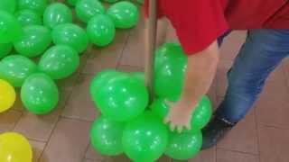 getlinkyoutube.com-fazendo arranjo de balão para decoraçao de festa infantil muito facil (SUZY FESTA DECORAÇAO