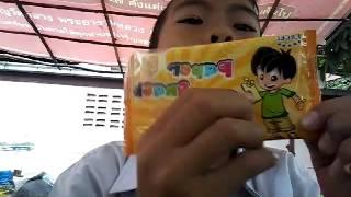 getlinkyoutube.com-ขนมกระดาษ 5บาท (หน้าโรงเรียน)
