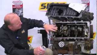 getlinkyoutube.com-Slick 50 Engine Teardown 6 - The Bottom End