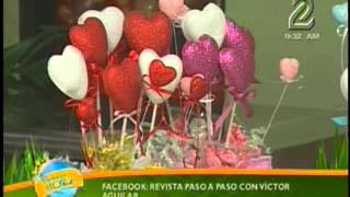 getlinkyoutube.com-Arreglo  Para San Valentin con Foamy. Moldes de Termoformado. Goma Eva
