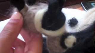 getlinkyoutube.com-Como hacer un mapache de fieltro