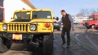 getlinkyoutube.com-2001 Hummer H1  for sale with test drive, driving sounds, and walk through video