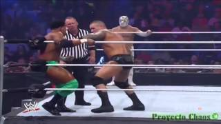 getlinkyoutube.com-Sin Cara, R  Mysterio & R  Orton VS Alberto del Río & Prime Time Players