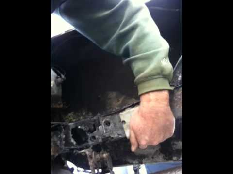 1968 Ford Mustang Rear Frame repair