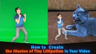 getlinkyoutube.com-How to Make People Small: Create the Illusion of Tiny Lilliputian in Your Video