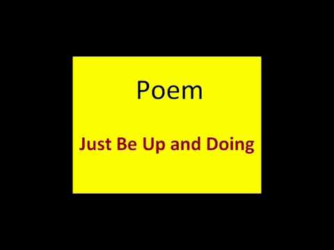 English Reader Book Class V Unit -3 Where there's a Will…Poem -Just Be Up and Doing