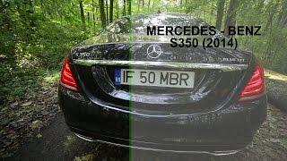 getlinkyoutube.com-Mercedes Benz S350 2014 Drive Test & Review (www.buhnici.ro)