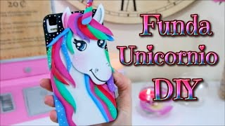 getlinkyoutube.com-DIY - Kawaii Funda Unicornio para telefono movil o celular