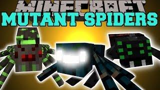 getlinkyoutube.com-Minecraft: MUTANT SPIDERS (GET READY TO DIE!) Mod Showcase
