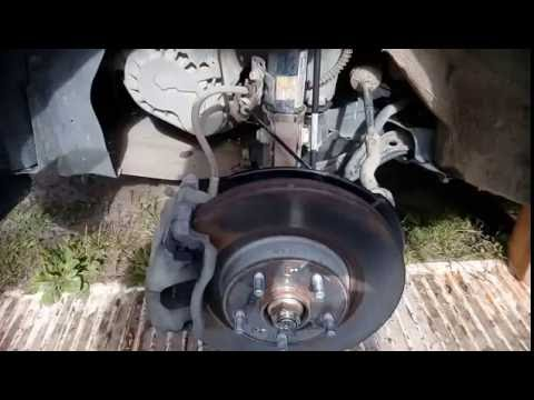 Chery Tiggo FL Замена передних стоек стабилизатора