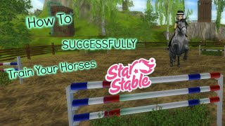 How To SUCCESSFULLY Train Your Horses | Star Stable