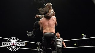 getlinkyoutube.com-WWE Network: Apollo Crews vs. Baron Corbin: WWE NXT TakeOver: London
