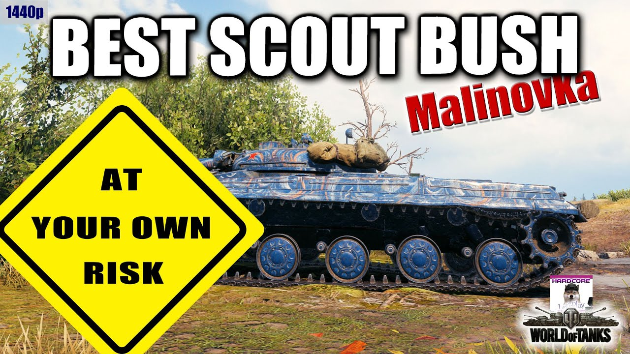 LT 432  best scout bush on Malinovka  at your own risk  best World of Tanks games
