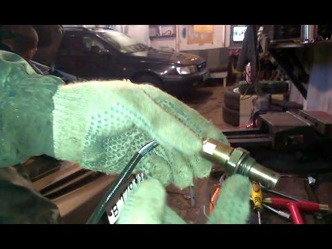 Как заменить кислородный датчик лямбда-зонд на Toyota Prius