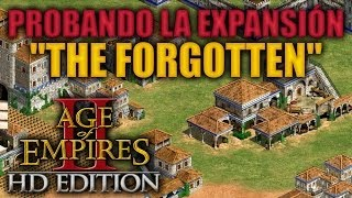 """getlinkyoutube.com-JUGANDO Age of Empires 2 HD Edition - """"Probando The Forgotten"""""""