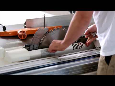 Video: How to change the saw blade Youtube Thumbnail