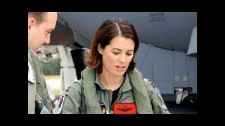getlinkyoutube.com-FIRST FEMALE PILOT to fly US Air Force F-35 Fighter Aircraft