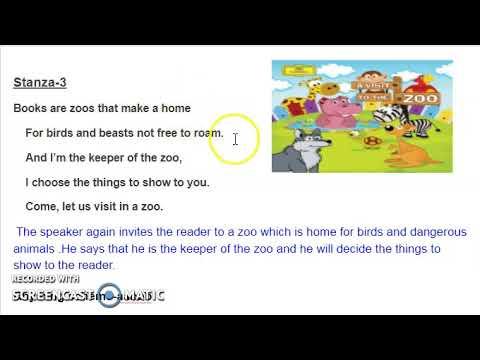 English Unit-2 Poem Adventures with Books