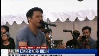 Konser band Noah di SMK diwarnai jerit tangis, sejumlah siswa pingsan - BIM 01/06