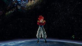 getlinkyoutube.com-Dragon Ball: Xenoverse - Super Saiyan 4 Gogeta vs Atrocious Broly