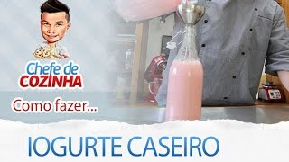 getlinkyoutube.com-Iogurte Caseiro - Danone Caseiro - Receitas Fáceis e Rápidas - Alex Granig