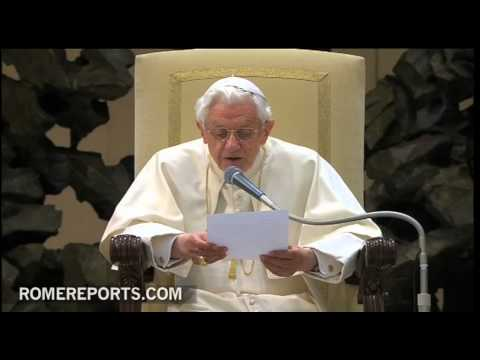 Pope's general audience  How should Christians speak about God?