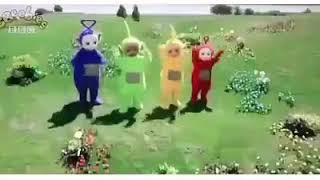 Teletubbies is dancing omunye