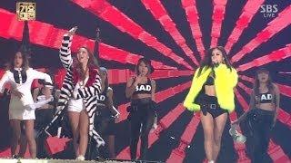 getlinkyoutube.com-CL+LEE HYORI_1229_SBS Gayo Daejun_나쁜 기집애(THE BADDEST FEMALE)