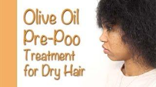 getlinkyoutube.com-Olive Oil Pre-Poo Treatment for Dry Hair